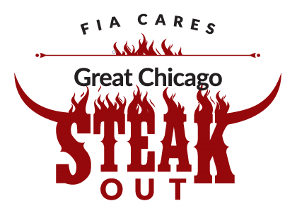 FIA Cares Great Chicago Steak Out logo